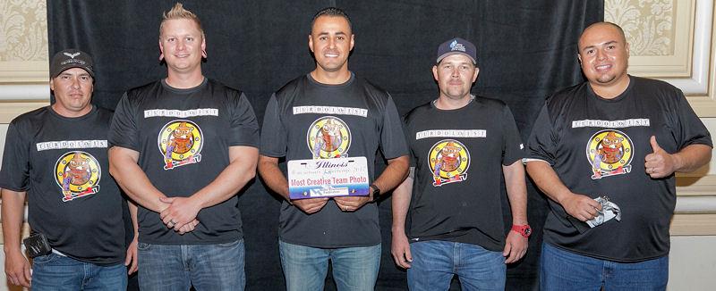 Arizona Surprise, Arizona WEA, won the spirit award for most creative team photo. Photo courtesy of Kieffer Photography.