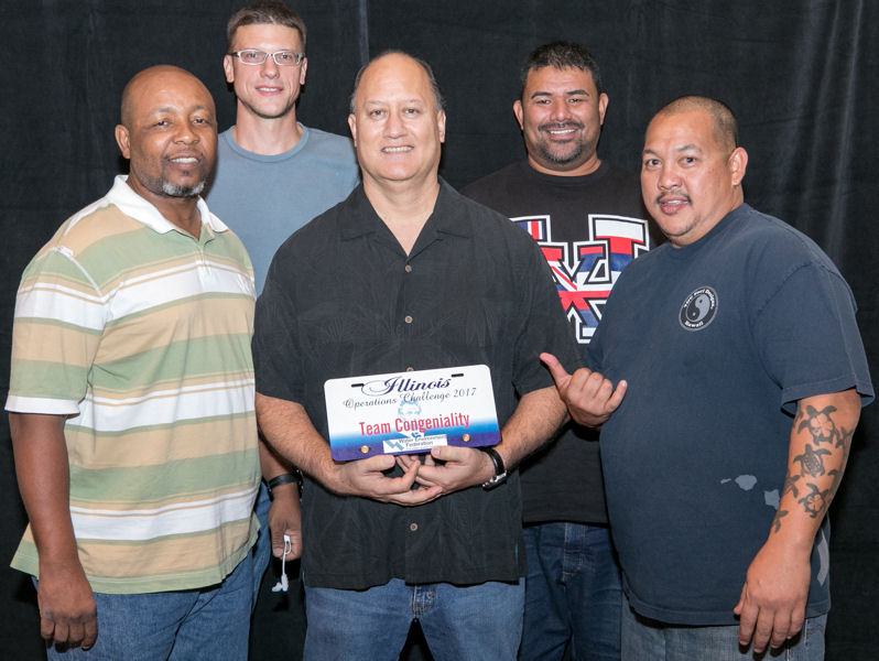 Sewercide Warriors, Hawaii WEA, won the spirit award for team congeniality. Photo courtesy of Kieffer Photography.