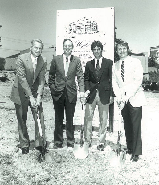 Other events highlighted include the groundbreaking ceremony in 1985 on WEF's current headquarter building in Alexandria, Va. WEF archive photo.
