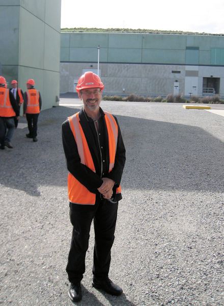 While representing WEF at the OzWater conference in 2016, Ed McCormick toured the Victoria Desalination Plant in Wonthaggi, Australia. Photo courtesy of Garry MacDonald.