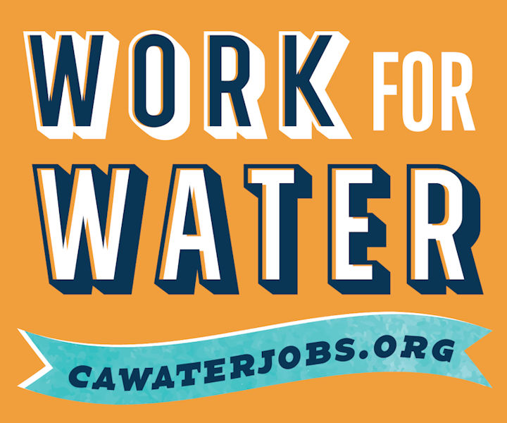 California Water Environment Association (CWEA) has joined other associations in launching the CAWaterInterns.org website to share internships, apprenticeships, and operator-in-training opportunities. Photo courtesy of CWEA.