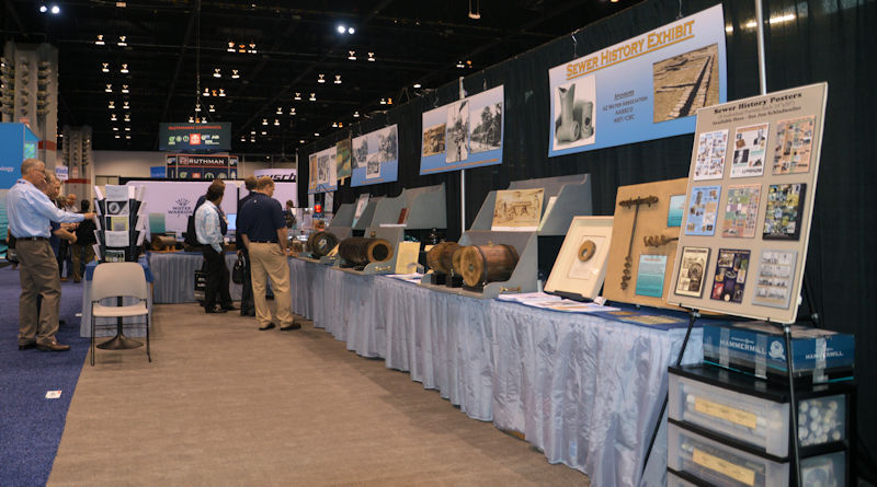 Those attending WEFTEC 2018 can see the exhibit again in booth 335. Photo courtesy of Jon Schladweiler.