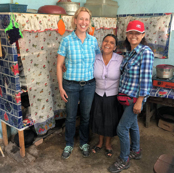 Allen visits locals in Peru, one of the regions where Water for People works to improve access to clean water and sanitation. Photo courtesy of Water for People.