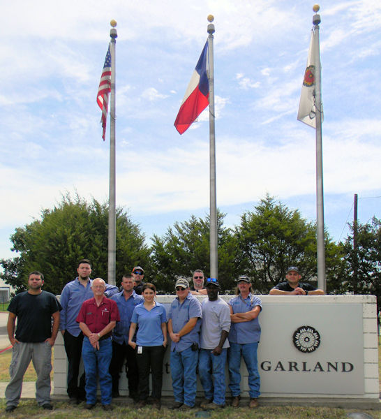 City of Garland (Texas) Wastewater Treatment, Safety Award