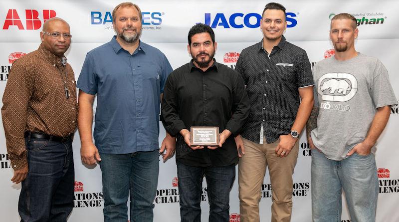 Third: Texas Aqua Techs, Water Environment Association of Texas