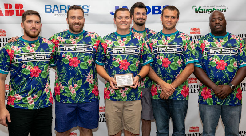 Third: Team HRSD, Virginia Water Environment Association