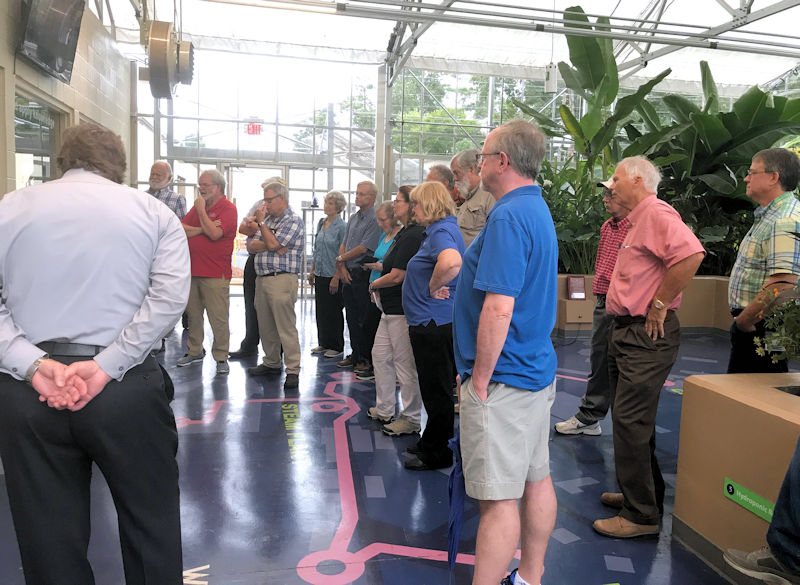 During another field trip, gurus visited the WaterHub, an on-site water recycling system, on the Emory University (Atlanta) campus. Photo courtesy of the Georgia Association of Water Professionals.