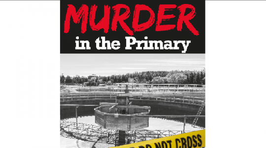 Murder in the Primary is the first mystery novel set at a water resource recovery facility. Written by John Seldon, a Water Environment Federation (WEF; Alexandria, Va.) Life Member, the recently published novel balances the technical aspects of wastewater treatment with the suspense of a murder mystery.  Image courtesy of Rock's Mills Press (Oakville, Ontario)