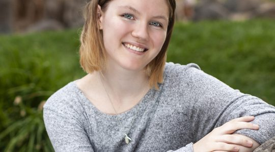 Zoe Gotthold, a high-school student from Richland, Washington, won the 2020 U.S. Stockholm Junior Water Prize competition for her investigation into mitigating environmental damages from oil spills. In August, Gotthold will compete against national-level winners from 28 other countries during a virtual event. Image courtesy of Gotthold
